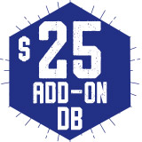 Add-On DB 25 $25.00