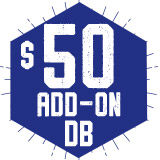 Add-On DB 50 $50.00