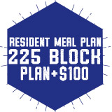 Resident Meal Plan 225 Block Plan + $100