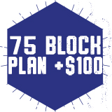 75 Block w 100 Dining Points $590.00